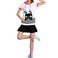 High Quality Clothing Manufactureres Cotton Clothing Fashion Women's Printing tshirts