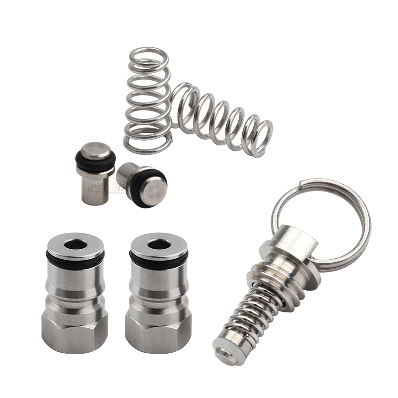 Home Brewing ball lock post 19/32''-18 Kegs Seal Replacement Kit Posts, Pressure Relief Valve,Poppets for Cornelius Keg
