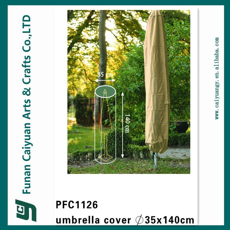 Outdoor Patio Umbrella UV And Waterproof Garden Furniture Cover