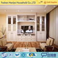 Malaysia customize laminate antique white bedroom furniture set