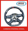 Wholesale auto accessories real carbon fiber steering wheel for audi a6