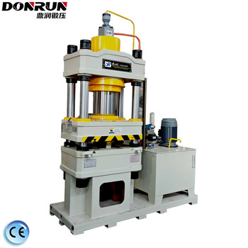 315T high speed four column deep drawing hydraulic Press Machine for wheel barrow