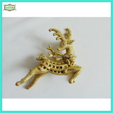 Cute christmas deer outdoor christmas train decoration