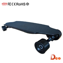 Deo 35km 36v 6.6ah bluetooth remote brushless motorized ewheelin newest electronic skateboard