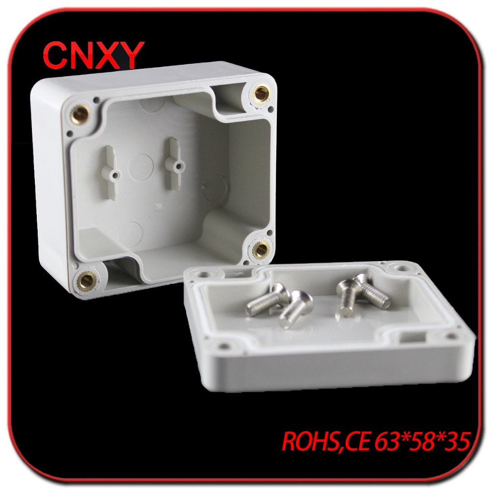 Small size cable housing waterproof IP65 plastic enclosures