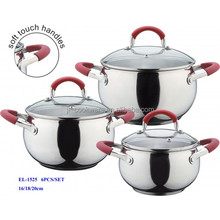 12pcs stainless steel high quality apple shape cookware appliance parts wholesale