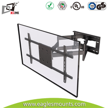 swivel 180 degree articulating tv wall mount with dvd bracket VESA 800X400