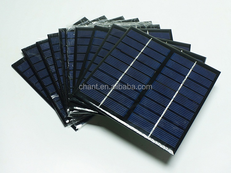 9 v 2 w solar small plate high quality mini solar panels