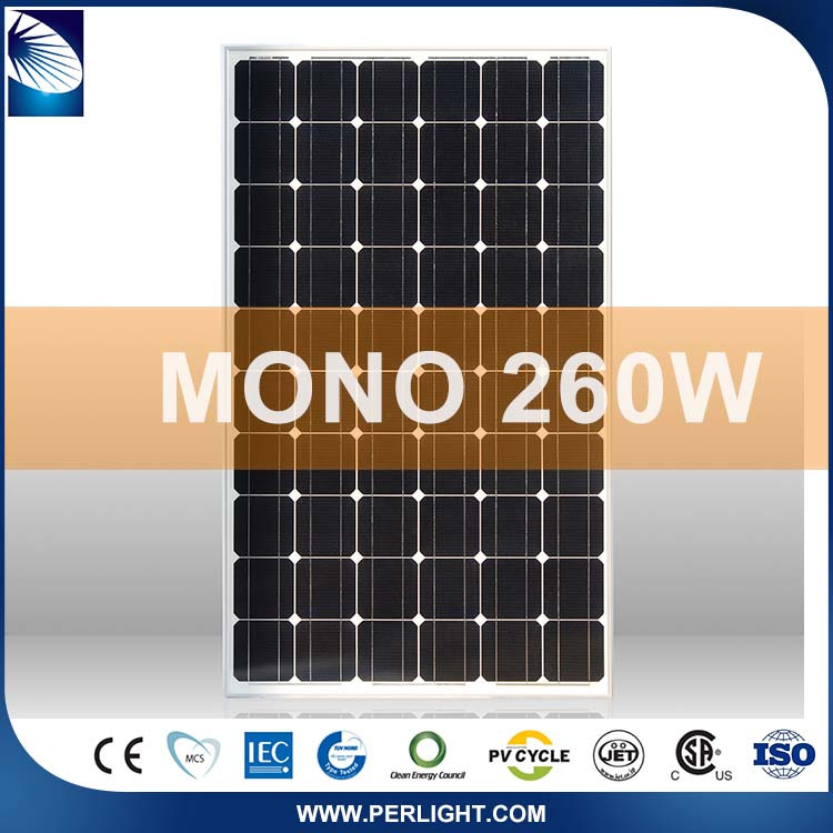 Popular New Products 2016 Mono 260W Solar Panel Module