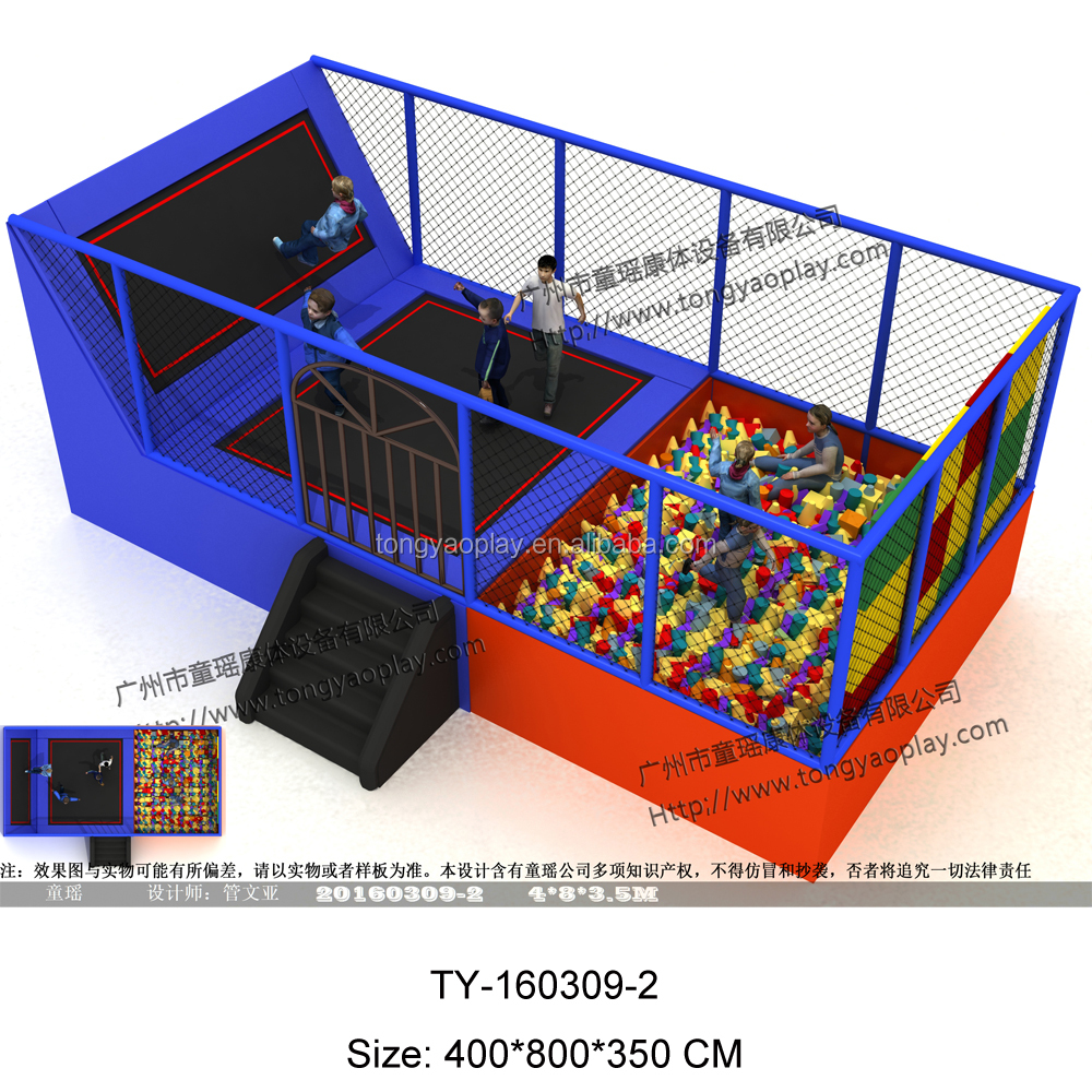 best cheap indoor trampoline park with foam pit