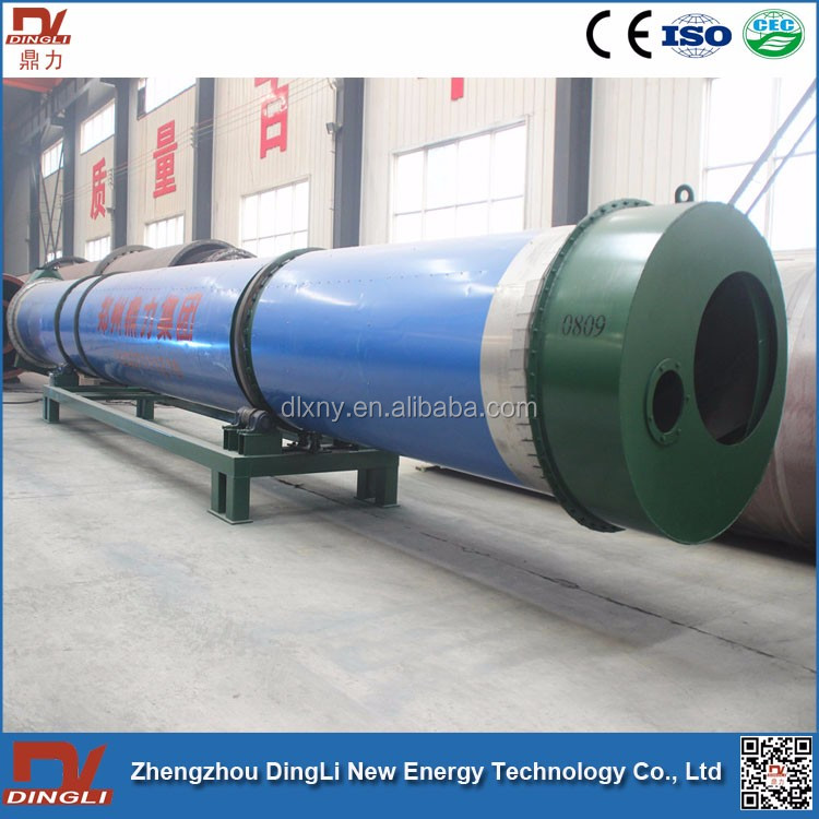 Made In China Corncob Rotary Dryer from Zhengzhou DingLi Factory