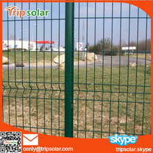 PVC Coated Safety Barrier Fence