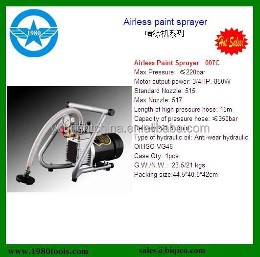 electric Airless paint sprayer with SAA Approved 1 year quality warrantly