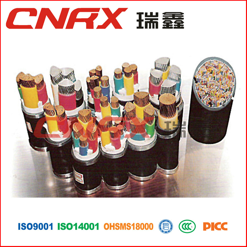 China manufacturer double sided XLPE thin STA and effective PVC sheath power cables for colliery