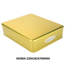 Food grade biscuits metal tin can