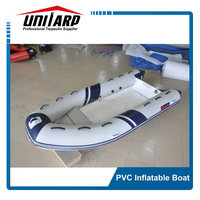 China Rib Fiberglass Hull PVC Inflatable Boat
