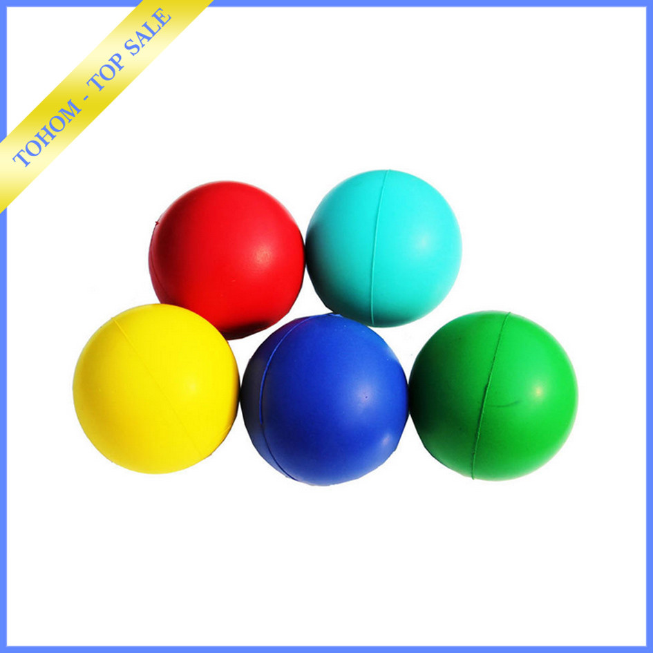 High quality cheapest logo printed mini rubber ball