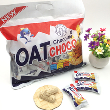 New milk and chocolate flavor oat choco chocolate