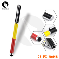 Jiangxin 2014 new product capacitive touch pen. with pencil