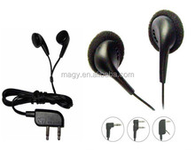 Promotional disposable in-ear style headphone Using in Tourist Bus,Airline,Hospital