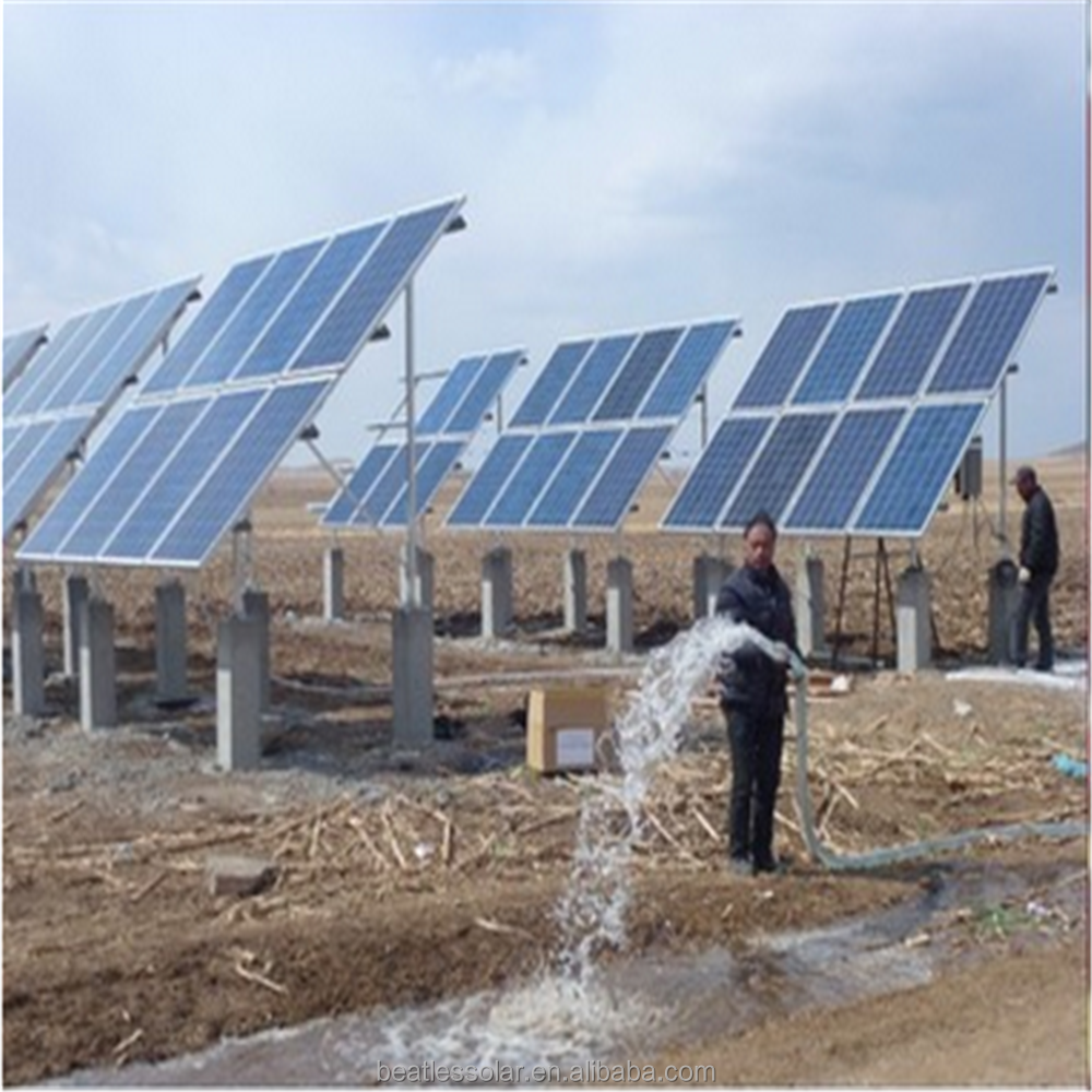 Powerful Centrifugal Solar Submersible Water Pump