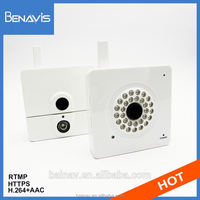 720p hd long distance night vision surveillance ip camera with rj45 port