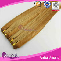 Wholesale products silk straight remy hair side by side human hair extension