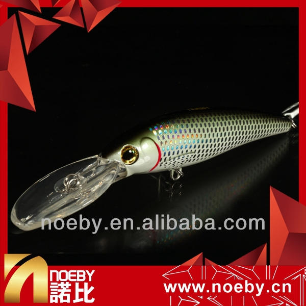 NOEBY fishing hard large size lure floating