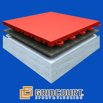 GridCourt Indoor Soccer Field Flooring