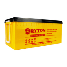 RYTON POWER 12volts isolated vrla gel car batteries off grid hybrid solar wind power system
