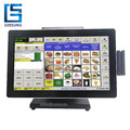 High Speed Android Pos All In One 15.6 Inch Pos Machine With 2nd display/MSR