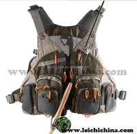 multifunctional high quality fishing tackle fly fishing vest pack