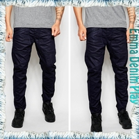 High Quality Men Latest Design Customized Skinny Indigo Denim Jeans Pants