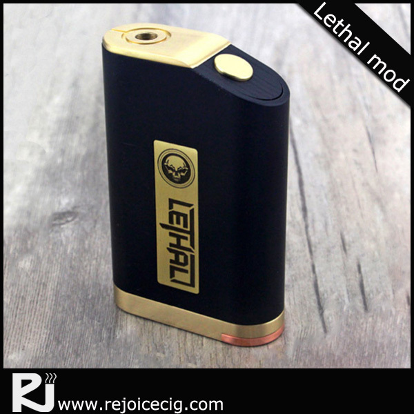 Hot Selling mech 3*18650 and silver pin Lethal Box Mod Clone 1:1, 1:1 clone lethal box mod with best price