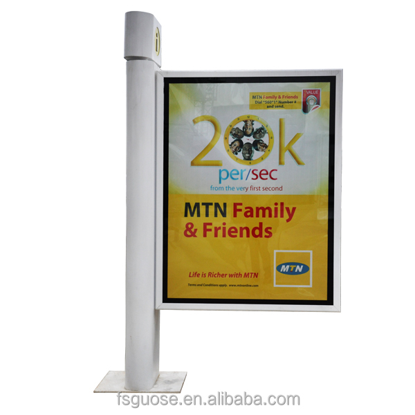 led lamp,Rectangle Shape and Steel Material paper picture photo frame for led lighting box