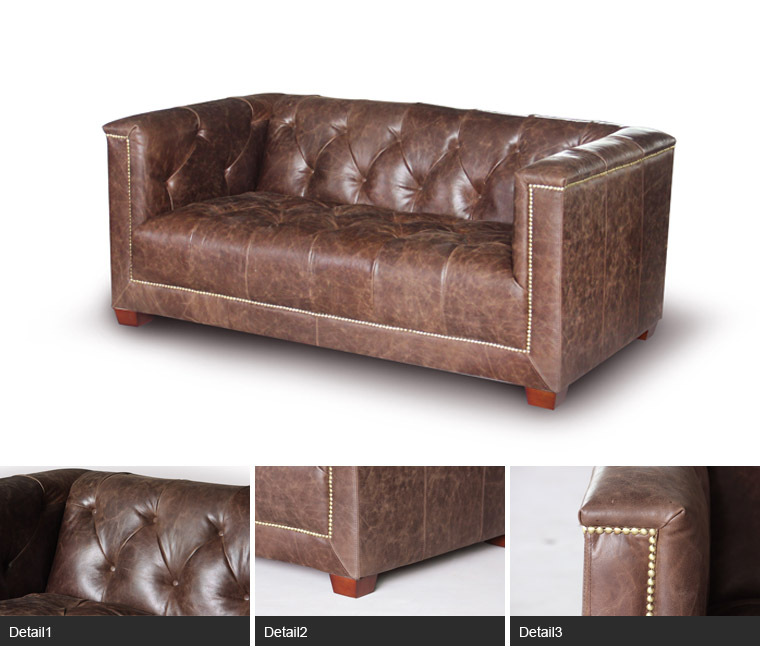 New Design Living Room Furniture Vintage Leather American Style Sofa Buy American Style Sofa