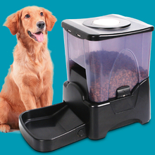 Large Automatic Electronic Timer Auto Cat Feeder Dog Feeder