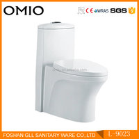 Ceramic sanitary ware bathroom toilet one piece water closet