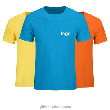 Cheap Cotton Custom Printing T-shirt,Promotional T shirt Printed Logo Design