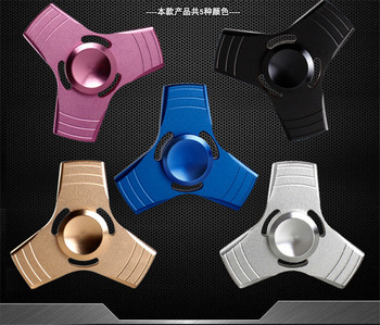 Best Selling Metal 3D Ultra Durable Triangle Fidget Spinner Hand Toy