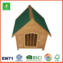 Flat And Waterproof Roof Custom Wooden Dog House,Wooden Dog Cage