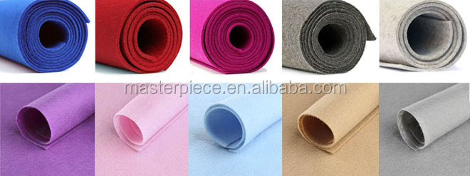 3mm 100% merino wool industry pressed wool felt/wool felt supplier (free samples )