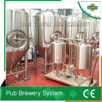 electric/direct fire/steam boiler micro brewery tanks/ beer brewing pot