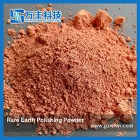High Precision Rare Earth Polishing Red Powder for Optical Components and Large LCD Screen