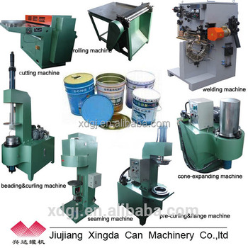 three pieces can making machine for metal cans Can Making