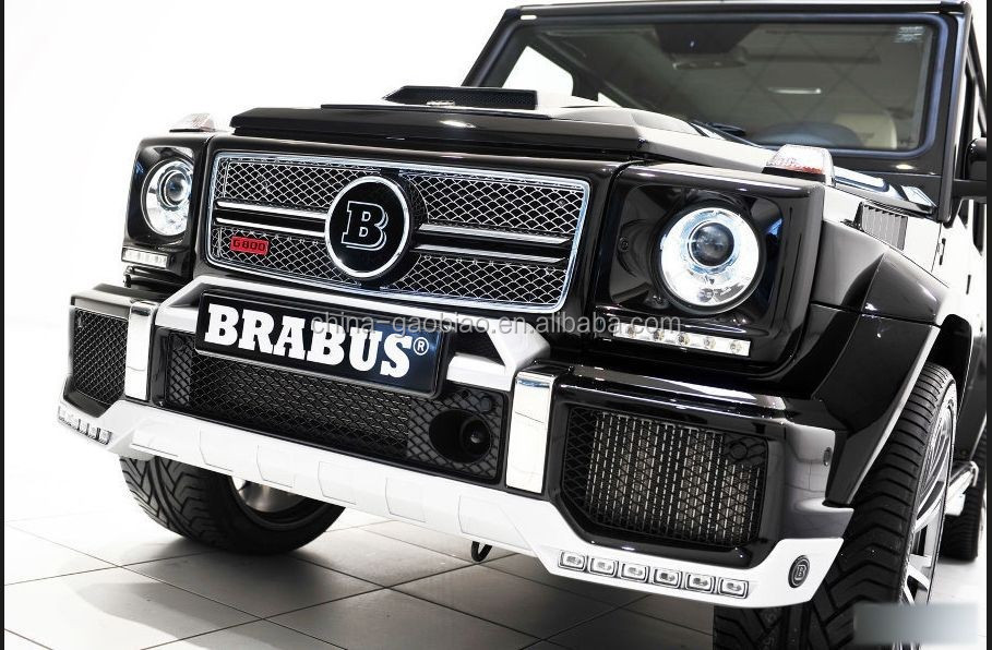 Barbus G65 G class front bumper spoiler for Benz