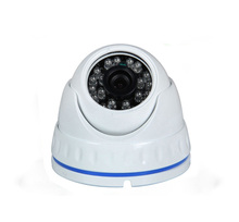 indoor metal dome housing 25m IR distance auto night vision 720p 720*1280p AHD cctv camera with OSD cable motion detection