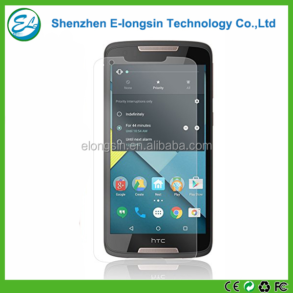 Elongsin factory price anti-explosion tempered glass screen guard for HTC Desire 828 screen protective film