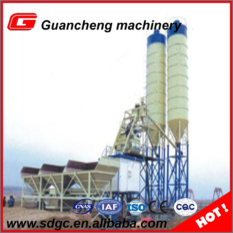 ready wet mix stationary concrete plant for sale