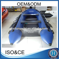 Hot sale zodiac boat inflatable boat with aluminum floor